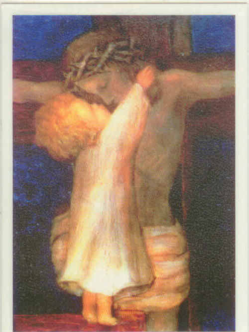 The Holy Kiss dans immagini sacre boykissjesus