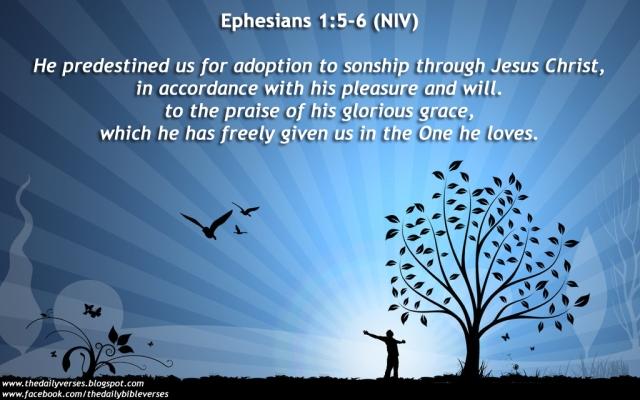 Ephesians 1_5-6
