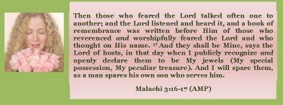 1 Malachi 3 16-17