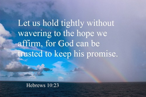 hold fast to God's promise