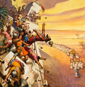 GOD is always fighting  for us (Joshua 6:20)