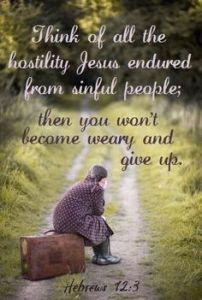 not weary