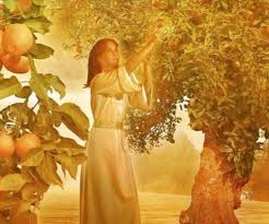 Your wife will bear children as a vine bears grapes,     your household lush as a vineyard, The children around your table     as fresh and promising as young olive shoots. Stand in awe of God's Yes.     Oh, how He blesses the one who fears God!
