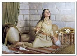 Yes, I see it all now:     I'm the Lord's maid, ready to serve. Let it be with me     just as you say.