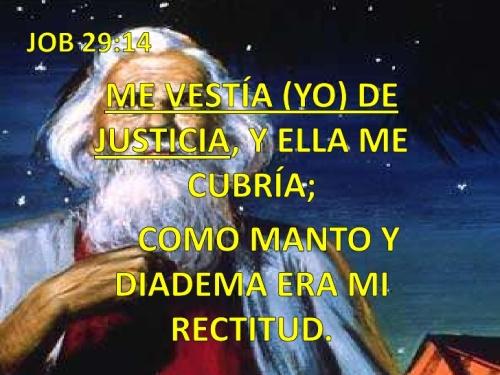 jOB 29 14